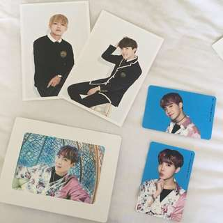 BTS 3rd term postcards & Wings tour Jhope V Taehyung