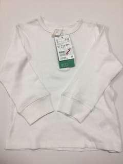 H&M Long sleeve tshirt (12-18M)