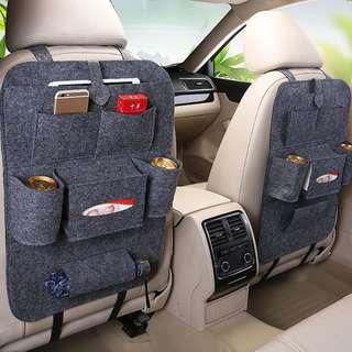 🚚 【Q夫妻】椅背收納袋 座椅收納袋 車用收納 掛袋 多功能 儲物袋 汽車用品 G1
