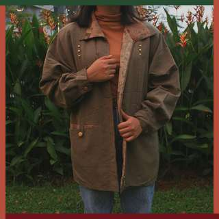 Shifonery Green Olive Outer Size : M