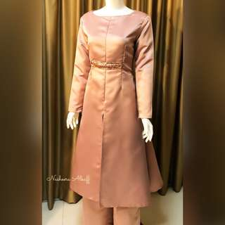 Hijab Princess coat with sequins Made to order. XXS TO XXXXXXL custom size n colors