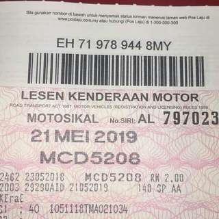 roadtax dan insurans murah