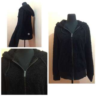 Roxy Fur Jacket with hood 😊