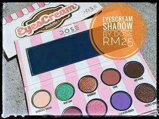 EYESCREAM PALETTE EYESHADOW BY DOSE