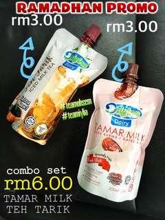Tamar Milk + Teh Tarik Kaww Origina
