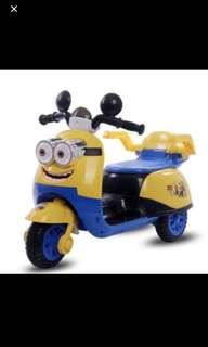Kids Ride On Minion Electric Bike