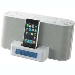 Sony ICFC1iPMK2 Speaker Dock and Clock Radio with iPod Dock (White)