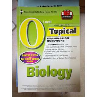 GCE O level Biology