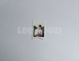 SEVENTEEN 1st Fanclub Kit Woozi Photocard