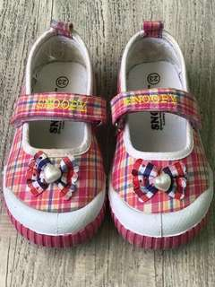 Snoopy Pink Shoes