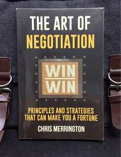 《Bran-New + Learn To Negotiate With Your Clients More Profitably》Chris Merrington - THE ART OF NEGOTIATION : Principles and Strategies That Can Make You a Fortune