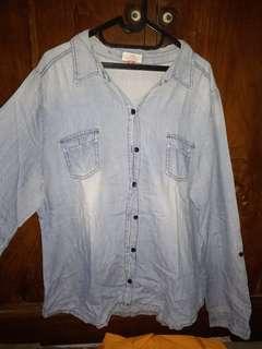 Baju Jeans/Denim Bigsize Jumbo