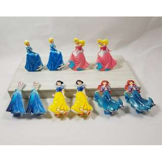 (Ready Stock) Princess Hair Clips (5 Princess per set) #552