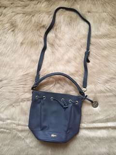 Authentic LACOSTE Bucket Body Bag