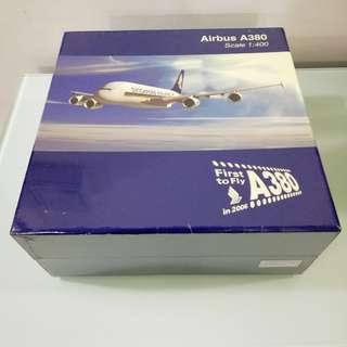 SIA Airbus A380 Diecast Airplane model