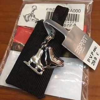 Esprit silver charm 100%new.  Include postage. Bracelet necklace