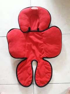 Babyhood Hug-a-babe Stroller Liner (Red)