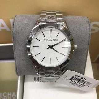 Mk silver watch