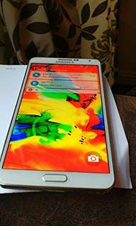 Offer Me Sale / Swap Samsung Note 3 white
