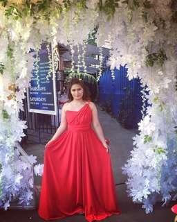 Infinity dress RED