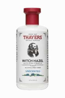 Thayers unscented toner with witch hazel Share in jar 60ml new!