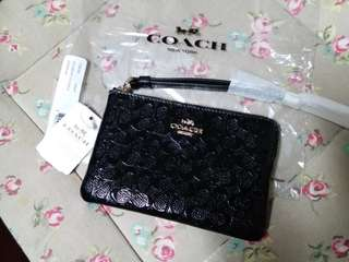 Authentic Coach 銀包 Wrislet Black F58034