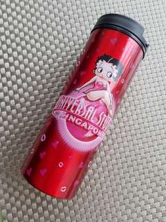 Preowned Universal Studios Betty Boop thermal mug for Sale