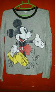 Mickey Mouse long sleeves