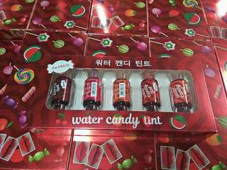 Lip Water Candy Tint Set