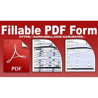 Professional PDF Forms