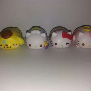 Hello Kitty Tsum Set Of 4
