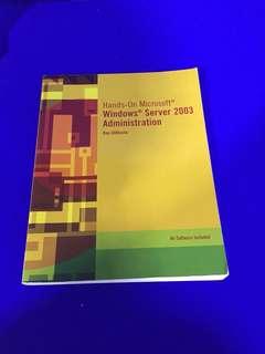 Book: Windows server 2003 administration