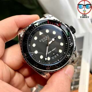 Gucci 45mm 200m防水 for men watch