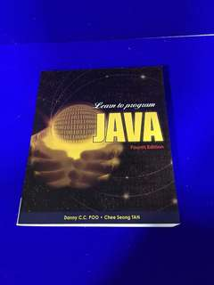 Book: Learn to program JAVA fourth edition