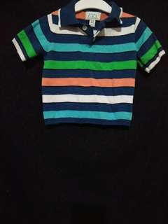 Place...Polo shirt, 6 to 9months on tag