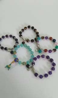 Colourful Crystal bracelet天然水晶手串
