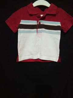 Gymboree...Polo shirt, 3 to 6months