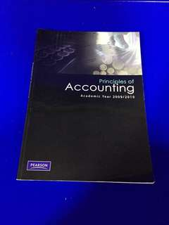Book: Principles of Accounting 2009/2010 Pearson