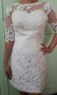 Short White Dress (Civil Wedding Dress)
