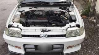 daihatsu charade detomaso 1996yrs 1.6cc auto