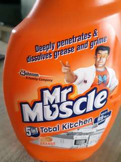 Mr Muscle Total Kitchen Cleaner