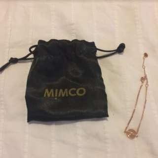 authentic mimco bracelet