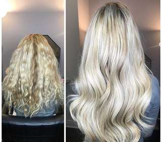 Mobile Hair Extensions (tape in, microlinks, fusions) in the GTA