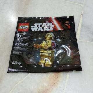 Lego Star Wars Exclusive Polybag - C -3PO
