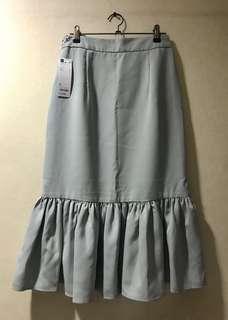 Brand New GU Light Green Mermaid Skirt