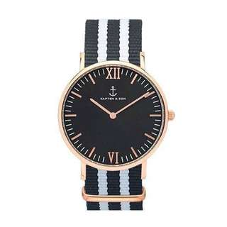 KAPTEN&SON UNISEX NAVY WATCH- GREAT CONDITION + OFFERS WELCOME