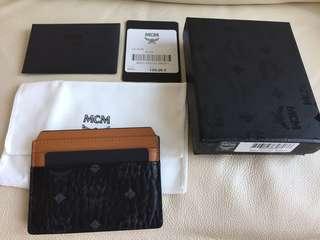 MCM card holder 真皮卡片套