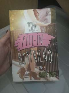 Fill in Boyfriend by Kasie West