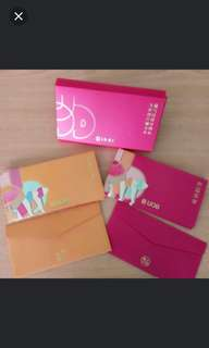 UOB Red Packet in Box