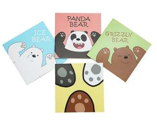 [PO] We Bare Bear Notebook